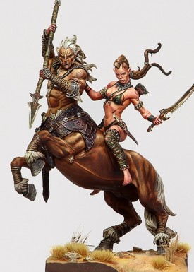 Centaur and Wild Elf gallery