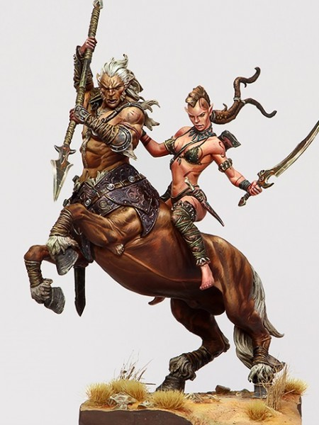 Centaur and Wild Elf gallery